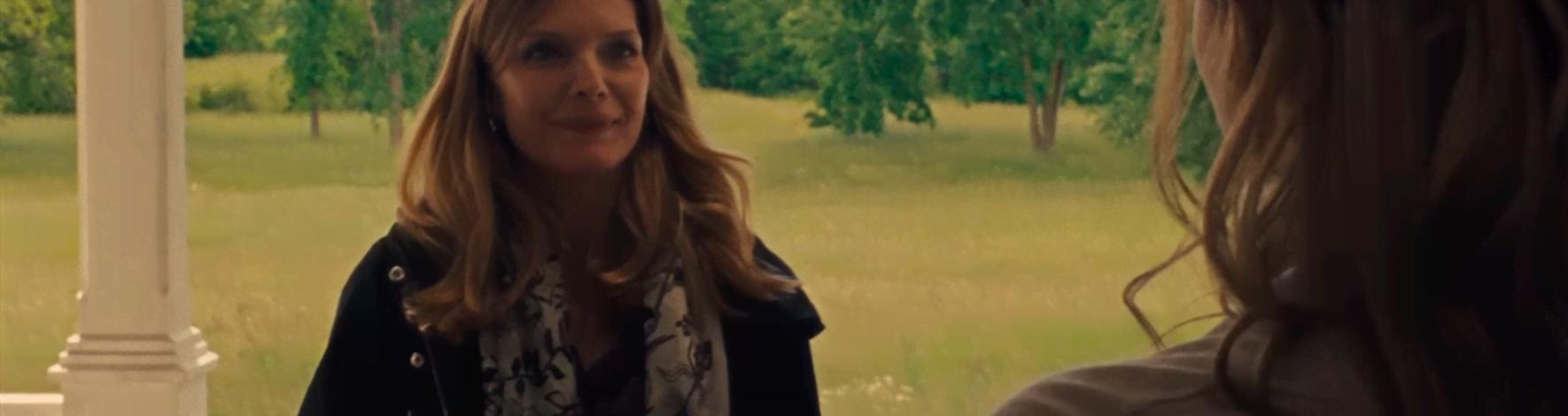 'Mãe!': reação de Michelle Pfeiffer traz mais mistério